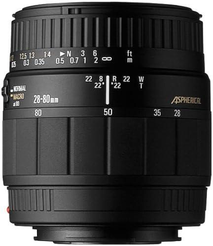 Sigma 28-80 mm/3,5-5,6 enfoque automático-Zoom-Macro-objetivo para ...