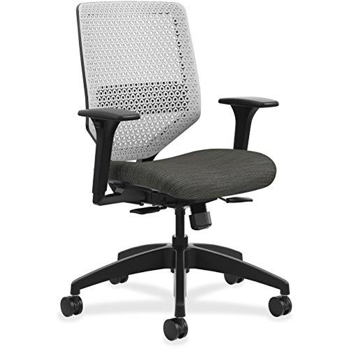 HON Solve Task Chair, ReActiv Ink COMP10 (Flex Chair Steel Swivel)