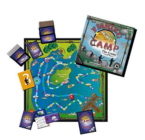 Fishing Camp Board Game made our list of camping safety tips for families who RV and tent camp