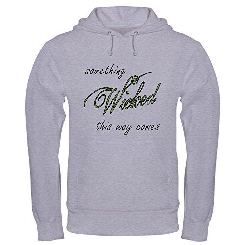 - CafePress Something_Wicked Pullover Hoodie, Classic & Comfortable Hooded Sweatshirt Heather Grey