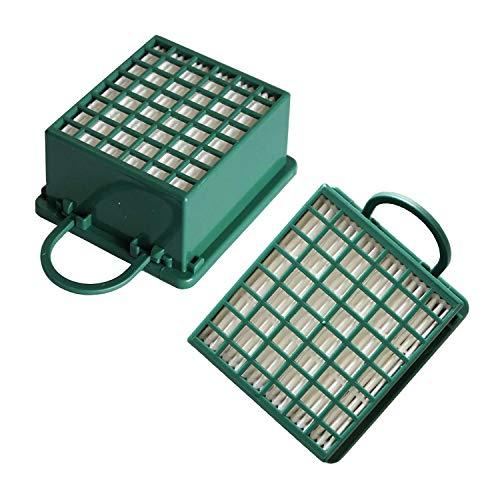 Winoya - 2 filtros HEPA de Repuesto para aspiradoras Vorwerk Kobold VK130 VK131