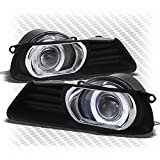 2007 toyota camry halo fog lights - 2007-2009 Toyota Camry Halo Projector Driving Bumper Fog Lights+Switch Set Pair 2008 Pair Left+Right