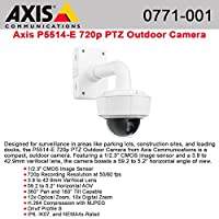 AXIS Communications 0771-001 P5514-E PTZ Dome Network Camera