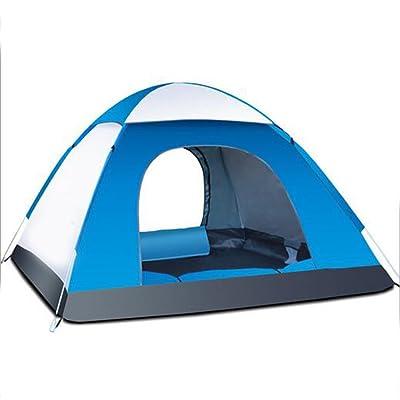 LOVE STUDIO,Automatic Account Tent Outdoor 3-4 personnes automatique imperméable à l'eau crème solaire antidérapante Camping mode Tente portable ensembles Tentes de voyage en plein air
