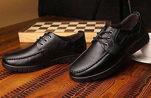 LEDLFIE Occasionnelles Hommes Hommes des Respirantes des De Chaussures De des Chaussures Printemps Black Classiques Mode S1TaSng4c