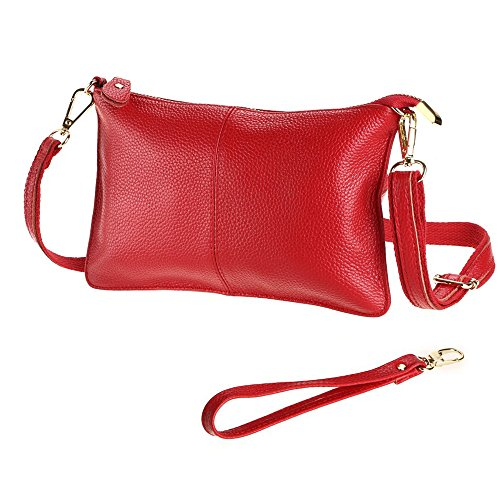 Shoulder Bag Bag Phone leather Handbag Purse PU Fashion Red Wallets Small for Wristlet Women Crossbody Clutch wgYnqF4x