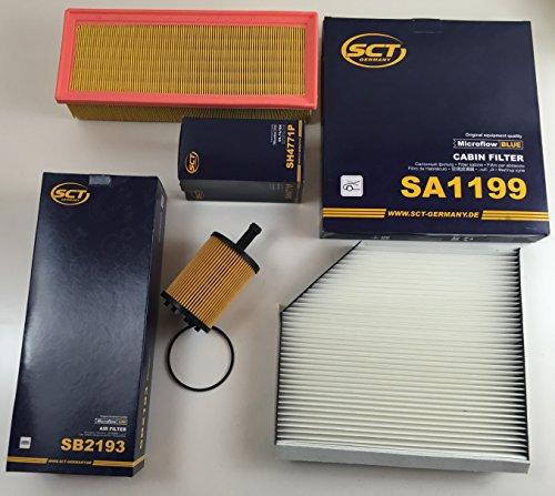Filter Kit Air Filter Oil Filter Cabin Air Filter: