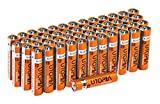 aaa batteries - AAA Alkali Battery (Pack of 50) - Long Lasting Performance - Perfect for Daily Use - by Utopia Home