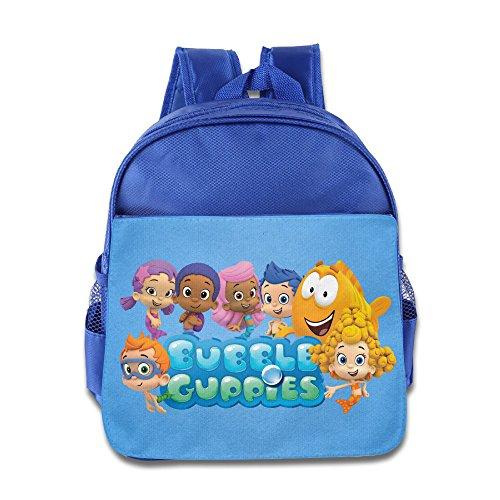 Price comparison product image Bubble Guppies Logo Pinky Boy Girl Kids School Bag