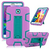 ULAK 3in1 Hybrid Shockproof Kickstand Case Stand Cover For Samsung Galaxy Tab 4 7.0