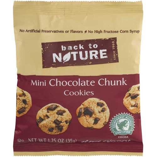 Price comparison product image Back to Nature Mini Chocolate Chunk Cookie