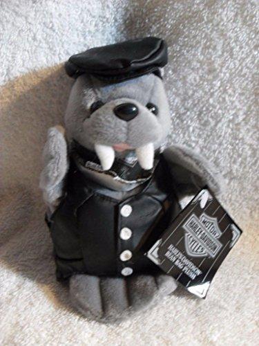 HARLEY DAVIDSON TUSK Plush Stuffed Bean Bag WALRUS MINT w/TAGS 1999