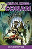 img - for Savage Sword of Conan Volume 21 book / textbook / text book