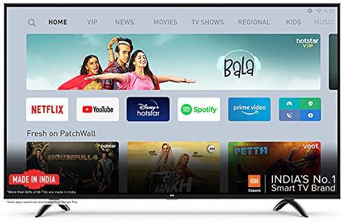 Mi 138.8 cm (55 Inches) 4K Ultra HD Android Smart LED TV 4X|L55M5-5XIN (Black)