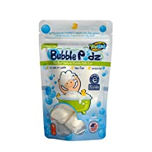 TruKid Eczema Bubble Podz Natural Unscented Bubble Bath 8ct. Accepted by the National Eczema Association