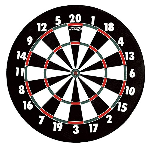 Regent Dartboard - Halex Match 2 in 1 Paperwound Dartboard