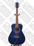 Oscar Schmidt 1/2 Size Dreadnought Guitar Transparent Blue