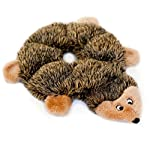 Loopy Hedgehog is a flat, no-stuffing, plush dog toy that will provide hours of squeaking fun without the unnecessary need of cleaning up fuzzy stuffing mess! Your furry best friend will go crazy over this lovable woodland hedgehog in a ring ...