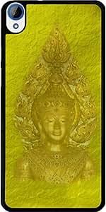 Case for Htc Desire 820 - Golden beautiful golden Buddha