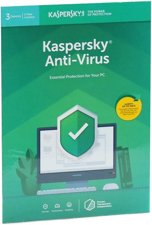 Kaspersky Lab KL1171U5CFS-9FFP Kaspersky Anti-Virus 2019: Amazon.es: Electrónica