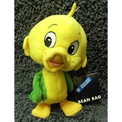 Retired Warner Brothers 7 Inc Plush Bean Bag Yakky Doodle Duck Doll: Toys & Games