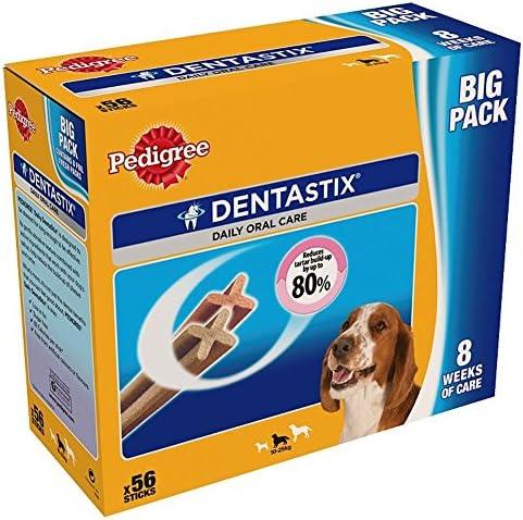 Pedigree Dentastix for Medium Dogs (56 per Pack – 1.44Kg) – Dogs Corner