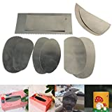 Pack of 10Pcs Stainless Steel Graver Clay Sculpture Ceramic Arts Crafts Tools