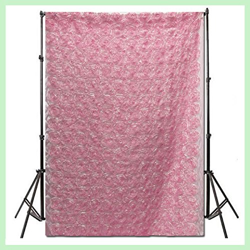 2 Panel Drapes Rosette 54''x108'' Window Curtain Backdrop Photography Baby Pink