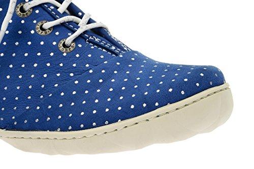 Bleu Lacets Chaussures Coupe Femme Classique 17068 Et 1 À Eject ZqxFI1zwfW