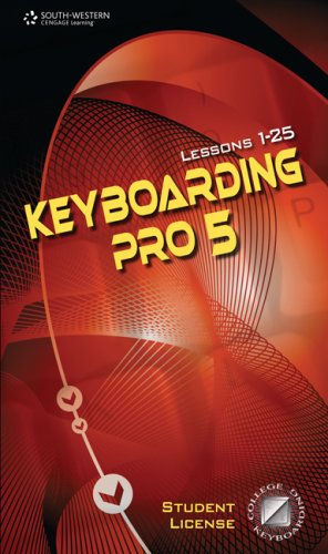 Keyboarding Pro 5, Version 5.0.4: With User Guide : Lessons 1 - 25