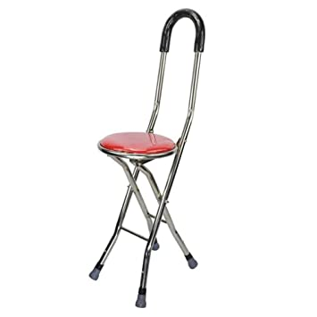 Superb Wei D Portable Chair Seat Crutch Stool Elderly Folding Pdpeps Interior Chair Design Pdpepsorg