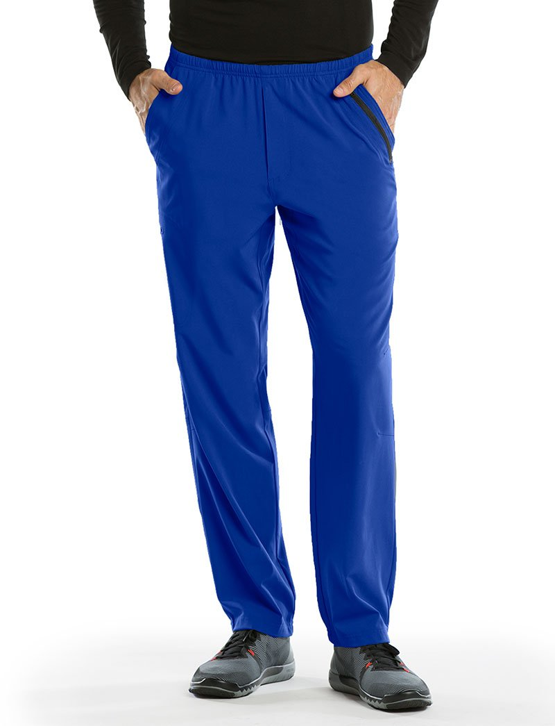 Barco Uniforms PANTS メンズ B01I2494O8 Large|Cobalt Cobalt Large