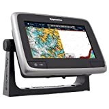"""Raymarine a77 Multifunction Display with Built-in Fishfinder, Wi-Fi & Lighthouse Navigation Charts, 7"""" Fish Finders And Other Electronics Raymarine"""