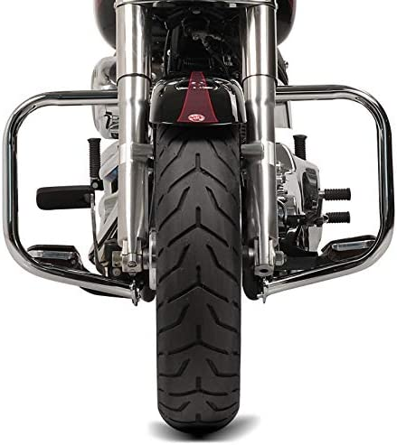 Defensa de Motor para Harley Davidson Softail 00-17 Craftride ST2 Cromo