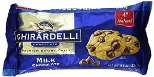 Ghirardelli, Milk Chocolate Chips, 11.5 oz