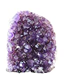 JIC Gem Natural Class 1 Polished Deeep Purple Uruguay Amethyst Crystal Cluster Home Decor : 2-3 Lb