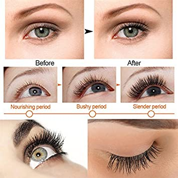 1325adcf981 Eyelash Growth Serum, Eyelash & Eyebrow Growth Enhancer for Women – Get  Longer, Thicker