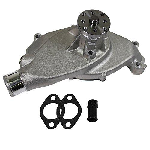 Short Cast Aluminum Water Pump High Volume for BBC Chevy 396 427 (Chevy Short Pump)