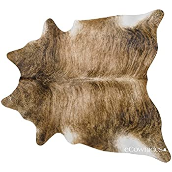 brindle brazilian cowhide large