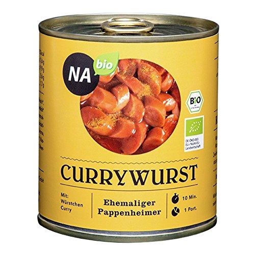 NAbio Bio Currywurst, 2er Pack (2 x 280 g)