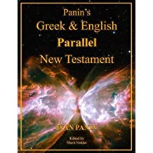 Panin's Greek and English Parallel New Testament: Large Print Edition
