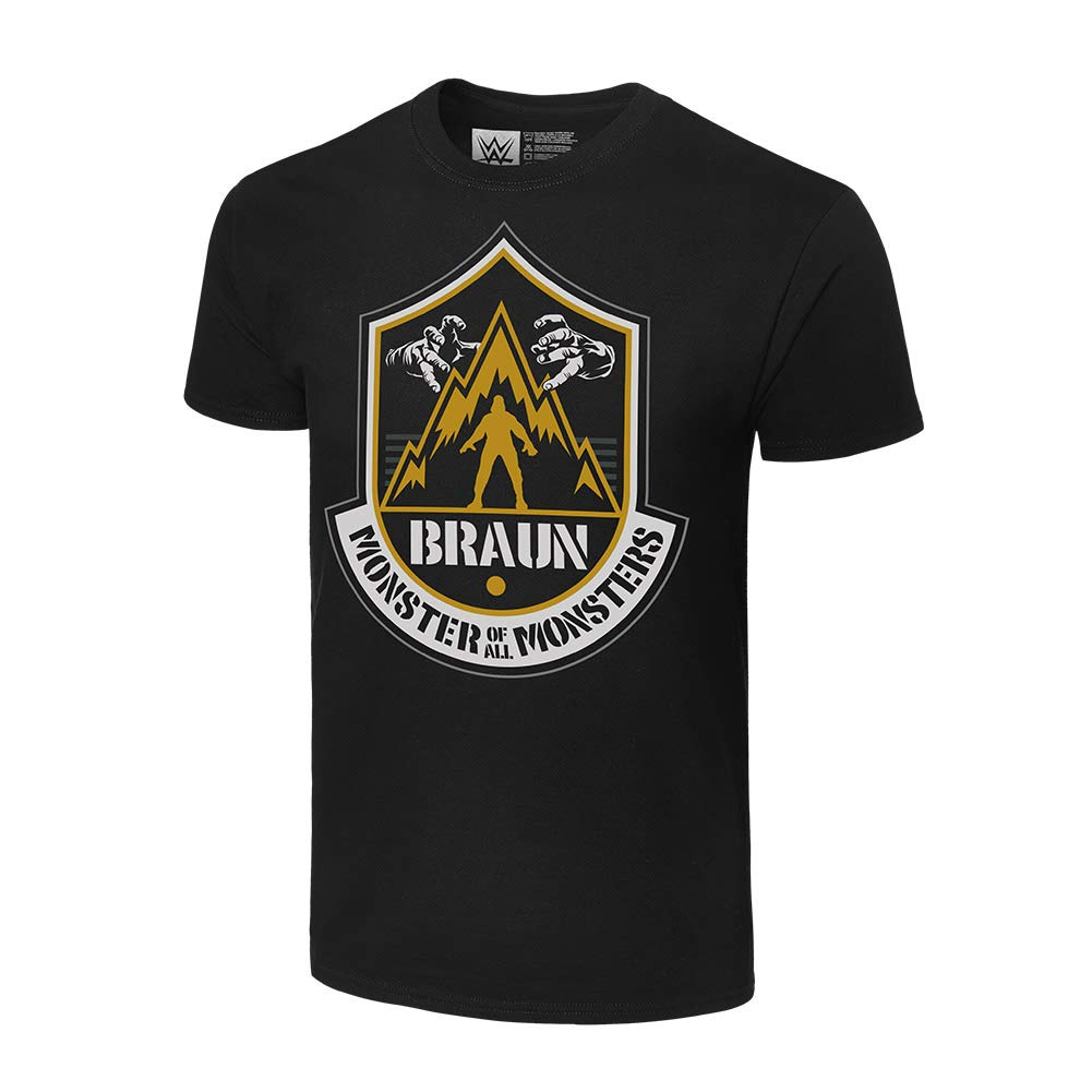 WWE Braun Strowman The Monster of All Monsters Authentic T-Shirt