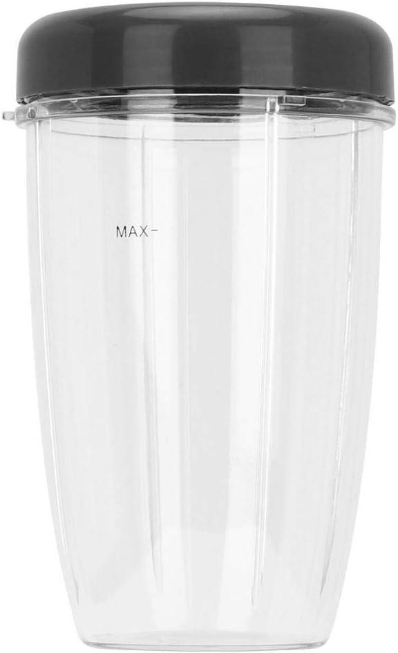 AUNMAS Piezas de Repuesto para la licuadora Juego de Piezas para la licuadora Cup + Lid para nutri Bullet 900W Accesorios para el reemplazo de la licuadora para el hogar(2#)