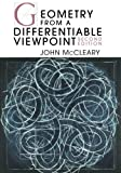 Geometry from a Differentiable Viewpoint, McCleary, John, 0521133114