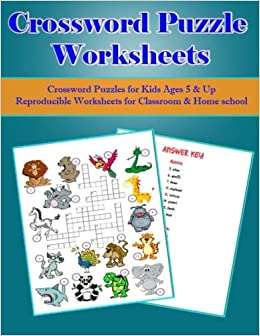 picture about Kids Crossword Puzzle Printable titled Crossword Puzzle Worksheets:Crossword Puzzles for Young children Ages
