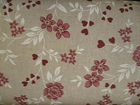 Tende Country Shabby : Stoffa tessuto per tovaglia cuscini tenda divano cm 280 country