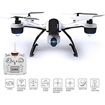 Drone with Camera for Sale - 509V Quadcopter RC Drones Helicopter - Beautiful HD Cam, Air Pressure Sensor Altitude Lock, Easy Control Headless Mode, Return Home Key, 6 Axis Gyroscope, USA Warranty