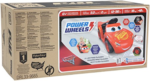 51KHiZcNZfL - Power Wheels Lil Lightning McQueen