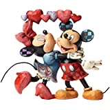 Jim Shore Disney Love is in the Air Mickey and Minnie Figurine 4046038 New Heart