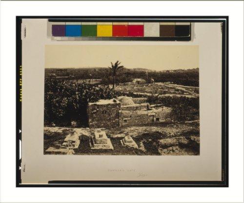 Historic Print (L): Samson's gate, Gaza / Frith.